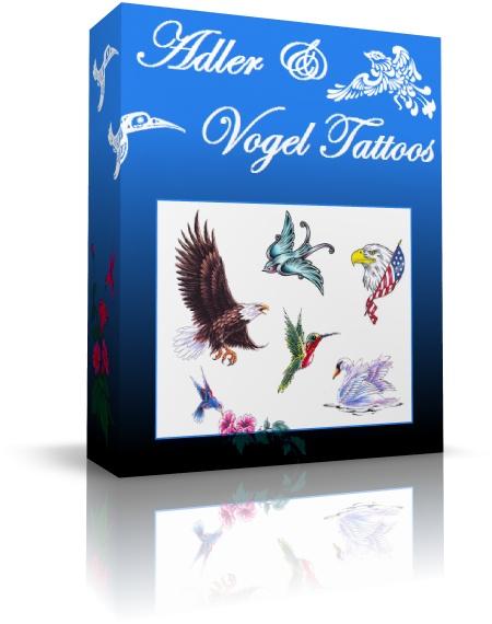 adler und vogel tattoovorlagen mit fl gel und schwingen. Black Bedroom Furniture Sets. Home Design Ideas