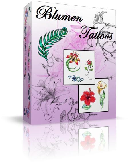 Blumen Tattoovorlagen Blumenwiese Fur Die Haut