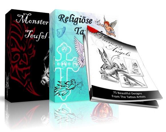Religion Tattoovorlagen Paket