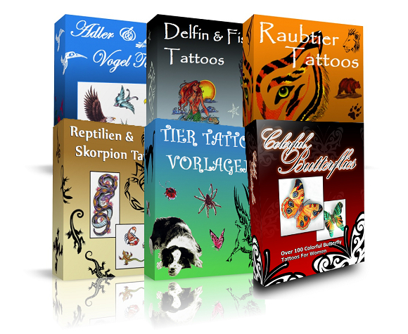 Tier Tattoovorlagen Paket